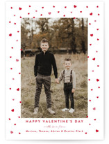 This is a red valentines day by Jennifer Lew called Hearts Framed with standard printing on smooth signature in standard.