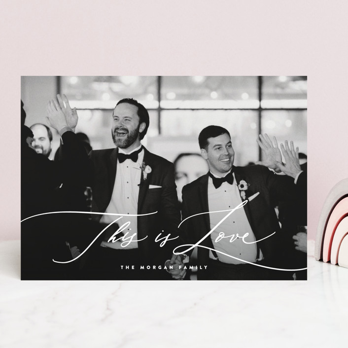 """""""This Love of Ours"""" - Valentine's Day Cards in Pearl by Hooray Creative."""