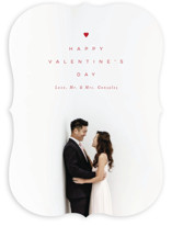 This is a red valentines day by MC designs called Simple Love with standard printing on smooth signature in standard.