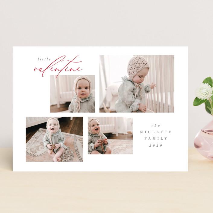 """""""Quartet"""" - Valentine's Day Cards in Snow by Nicoletta Savod."""