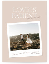 This is a pink valentines day by Owl and Toad called Patient with standard printing on signature in standard.