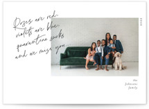 This is a white valentines day by Pati Cascino called Missing You with standard printing on signature in standard.
