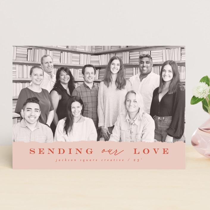 """""""corporate love"""" - Valentine's Day Cards in Rose by Anastasia Makarova."""
