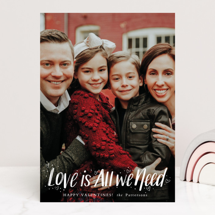 """""""Love Is All"""" - Valentine's Day Cards in Ruby by Cindy Reynolds."""