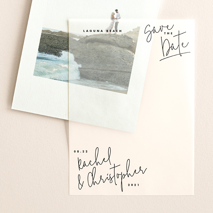 """""""hand-written"""" - Vellum Overlay in Pacific by Lindsay Stetson Thompson."""