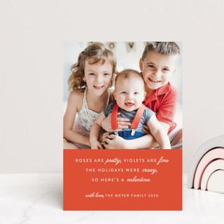 Valentine Rhyme Valentine's Day Petite Cards