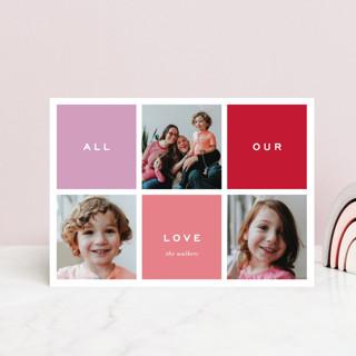 Preppy Blocks Valentine's Day Petite Cards