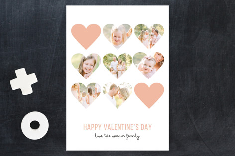 Modern Hearts Valentine's Day Petite Cards