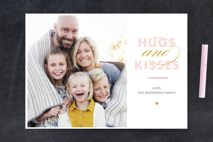 """""""hugs&kisses"""" - Valentine's Day Petite Cards in Candy by Jessica Voong."""