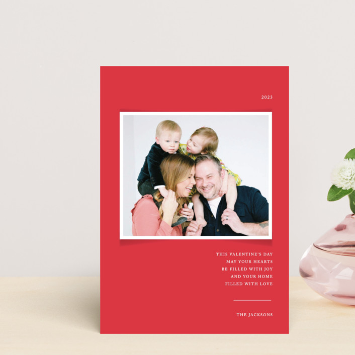 """""""Simplicity"""" - Valentine's Day Petite Cards in Cardinal by That Girl Press."""