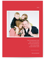 This is a red valentines day by That Girl Press called Simplicity with standard printing on smooth signature in petite.