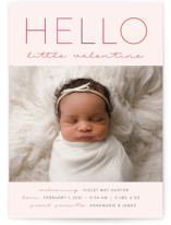 This is a pink valentines day by Nicoletta Savod called Little Valentine with standard printing on smooth signature in petite.