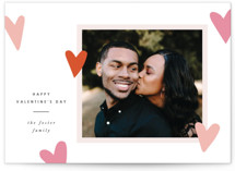 This is a pink valentines day by Pixel and Hank called All the Hearts with standard printing on smooth signature in petite.