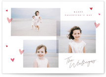 This is a pink valentines day by Pixel and Hank called Be still my heart with standard printing on smooth signature in petite.