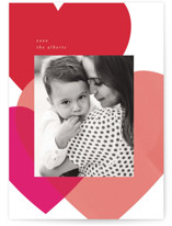 This is a red valentines day by Baumbirdy called Playful Hearts with standard printing on smooth signature in petite.