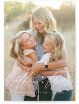 This is a white valentines day by Susan Zinader called all.the.love with standard printing on smooth signature in petite.