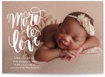 This is a white valentines day by Pixel and Hank called More to Love with standard printing on smooth signature in petite.