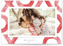 This is a red valentines day by Paula Pecevich called Love You Bunches with standard printing on signature in petite.