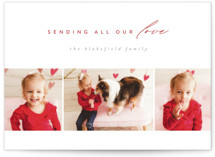 This is a red valentines day by Jen Banks of Ink and Letter called Letter of Love with standard printing on signature in petite.