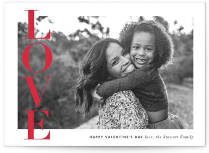 Love Banner Valentine's Day Postcards
