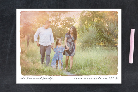 Aquarelle Valentine's Day Postcards