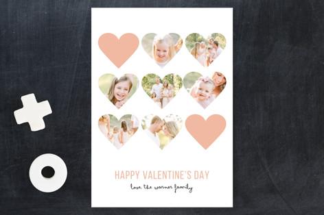 Modern Hearts Valentine's Day Postcards