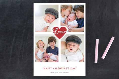 Scripted Love Valentine's Day Postcards