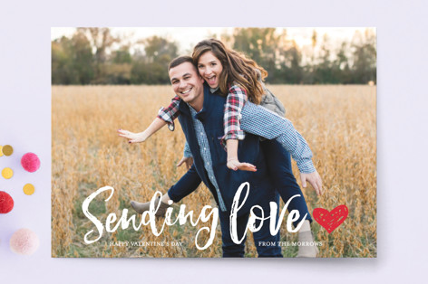 love to you Valentine's Day Postcards