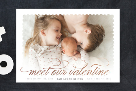 Sweet Meeting Valentine's Day Postcards