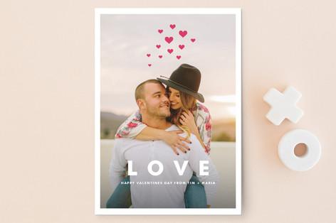 Hearts Aflutter Valentine's Day Postcards