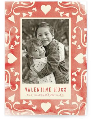 Valentine XOXO Valentine's Day Postcards