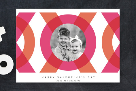 XO Valentine's Day Postcards