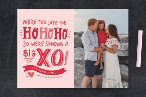 Big XO Valentine's Day Postcards