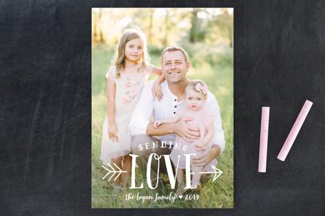 Sending Love Valentine's Day Postcards