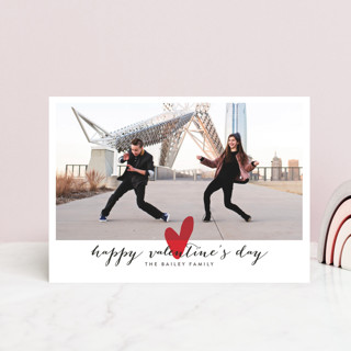 Married Little Heart Valentine's Day Postcards