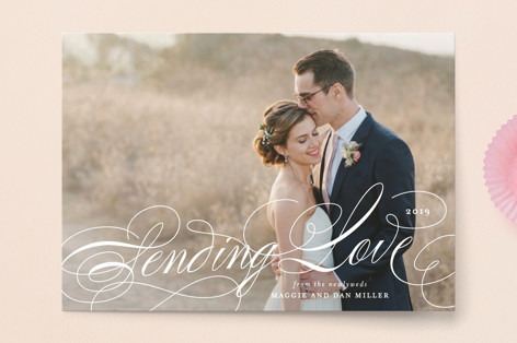 Elegant Love Valentine's Day Postcards