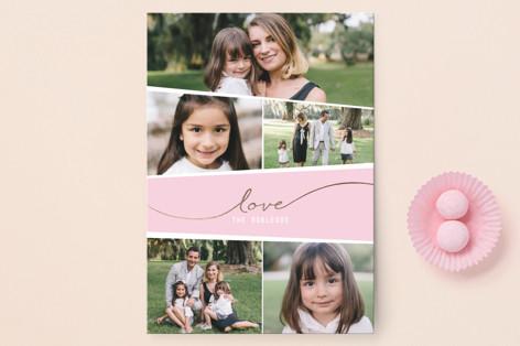 Mosaic Valentine's Valentine's Day Postcards