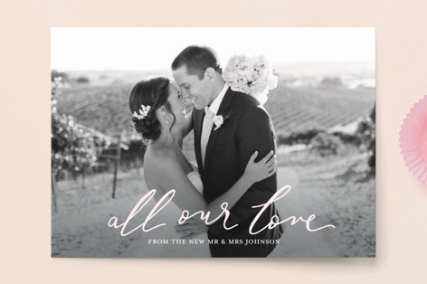 All our love Valentine's Day Postcards