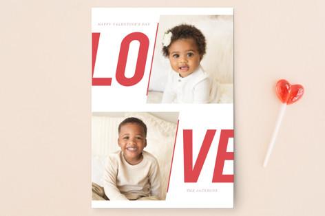 Bold Love Valentine's Day Postcards