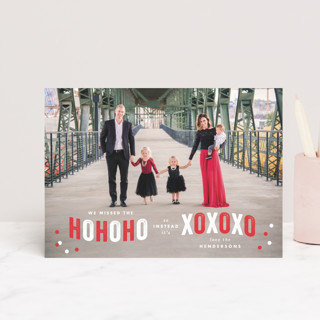 Ho Ho Xo Valentine's Day Postcards