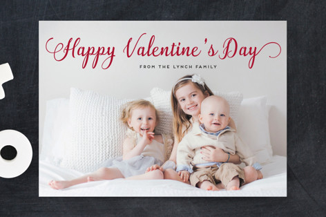 Stylish and Merry Valentine's Day Postcards