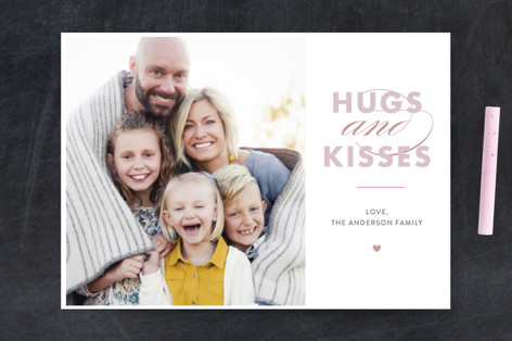 hugs&kisses Valentine's Day Postcards