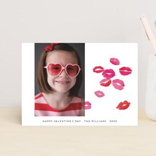 Kisses Valentine's Day Postcards