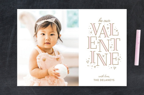 Be Ours Valentine's Day Postcards