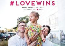 #LOVEWINS Valentine's Day Postcards