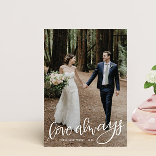 Lettered Love Always Valentine's Day Postcards