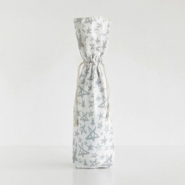 This is a white wine bag by Two if by Sea Studios called Starry Sky.