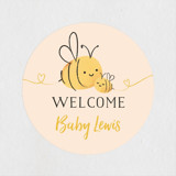 Mommy to bee baby shower invitations by chryssi ts minted baby shower stickers filmwisefo