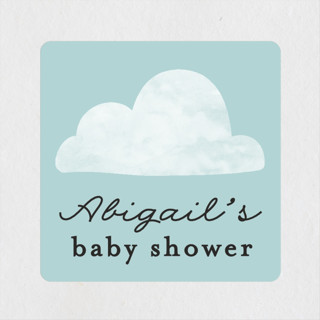 Special Delivery Baby Shower Stickers
