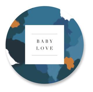 Parfum Baby Shower Stickers